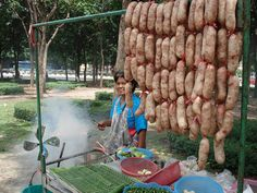 Fermented rice sausage