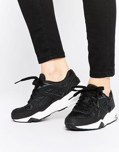 Image 1 of Puma R698 Trinomic PWRW Reflective Black Trainers Tennis  Sneakers 326eac500