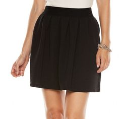 LC Lauren Conrad Textured Circle Skirt - Women's