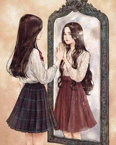 김지은 작가 '어른 소녀' 표지