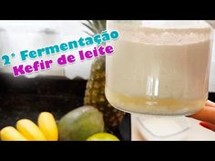 SEGUNDA FERMENTAÇÃO DO KEFIR DE LEITE - TAMIRES MOTA - YouTube Kefir, Glass Of Milk, Pudding, Desserts, Youtube, Food, Milk, Tailgate Desserts, Deserts