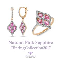 Pink Sapphire Fine Jewelry   Exclusive New Spring Collection 2017