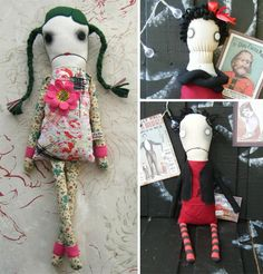 The circus master zombie and other goth dolls, hilarious yet sweet.