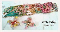 P@tty Perline : Bracciale Butterfly & Shibori