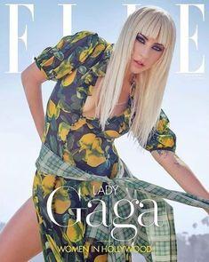 Elle US November 2018 - Lady gaga Grunge Fashion, 90s Fashion, Lady Gaga Fashion, Lady Gaga Pictures, Elle Magazine, Magazine Covers, Foto Art, New Fashion Trends, Cultura Pop