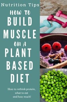 How to build muscle on a plant-based vegan diet eating ONLY whole foods and plant based protein Whole Plant Based Diet, Plant Based Vegan Diet, Plant Based Nutrition, Vegan Nutrition, Plant Based Protein, Nutrition Tips, Health Tips, Fitness Nutrition, Diet Tips