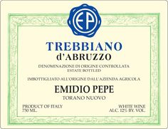 Trebbiano d'Abruzzo – Emidio Pepe - Cerca con Google