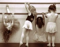 The one hanging upside down is going to be my daughter.