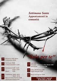 Resultado de imagem para poster di settimana santa
