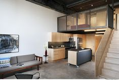 Living in a shoebox | Renovated industrial style loft in downtown Oklahoma City