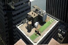 77 Water Street Rooftop Helicopter Pad- New York City-Amazing Rooftop Structures
