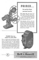 Bell & Howell Filmo Master 400 1947 Ad Picture