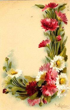 "floral alphabet - ""J"" - C. Klein (9) (441x698, 107Kb)"