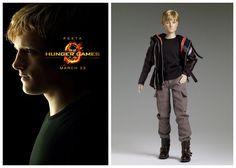 Josh Hutcherson as Peeta Mellark The Hunger Games Movie Collectible Figure Doll