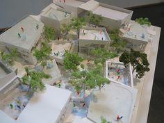 圖檔 Social Housing Architecture, Concept Architecture, Architecture Details, Landscape Architecture, Interior Architecture, Facade Design, House Design, Kindergarten Design, Arch Model