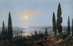 Carlo Bossoli View of Constantinople