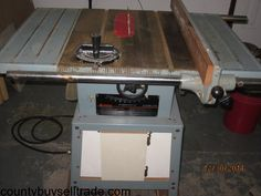 Delta Contractor Table Saw. Contractor Table Saw, Furniture, Home Decor, Decoration Home, Room Decor, Home Furnishings, Home Interior Design, Home Decoration, Interior Design