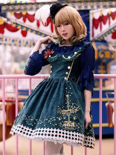 Lolita Kleid in Grün