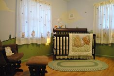 100 Acre Woods & Classic Pooh , 100 Acre Woods & Classic Pooh theme inspired by Disney paint colors., Nurseries Design