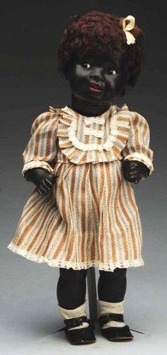 Flirty Black Character Baby Doll.