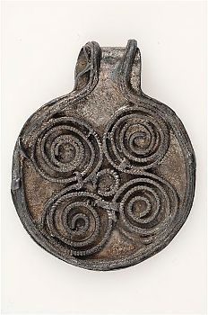 Viking age / Silver pendant/ Dalsland