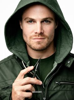 Green Arrow / Oliver Queen (as portrayed by: Stephen Amell) Oliver Queen Arrow, Green Arrow, Team Arrow, Arrow Tv, Arrow Cast, Eminem, Stephen Amell Arrow, Black Dagger Brotherhood, Man Crush Monday