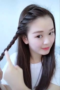 Open Hairstyles, Bun Hairstyles For Long Hair, Braids For Long Hair, Braided Hairstyles, Indian Hairstyles, Latest Hairstyles, Front Hair Styles, Medium Hair Styles, Curly Hair Styles