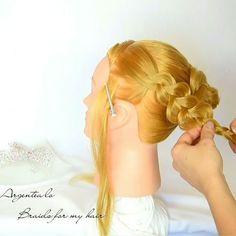 Braid Hairstyle 💖  The full video on my Youtube Channel ➡ Argentea lo ⬅ Link in bio 🔝 🔝 🔝  Music 🎼 Distrion & Alex Skrindo -Entropy 🎶 Follow @braids_for_my_hair 😉  #acconciatura #braidsformyhair #braid #bride #capelli #coolhair #curls #hair #hairstyles #haircut #hairdo #instahair #instabraid #peinadosvideos #promhair #trecce #tresse #trenzas #updo #weddinghair #longhair #lovehair #dutchbraid #waterfallbraid #fishtailbraid #frenchbraid #hairtutorial #hairvideo #updos