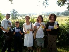 Country Territory, Kidderminster, England. Having a share in the JW.org campaign along with our convention invites. :)