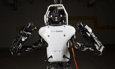 The Atlas robot is shedding its safety cables to be able to adhere to the more stringent rules of the DARPA Robotics Challenge finale scheduled for June