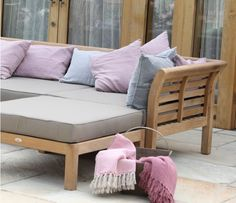 Albony Modular Sections for Corner Daybeds are available from garden experts Jo Alexander. We stock and sell a wide range of contemporary and traditional garden furniture. Visit our website to shop our wide range of outdoor furniture products - 01954 2678 Garden Furniture, Outdoor Furniture, Outdoor Decor, Garden Sofa Set, Outdoor Sofa Sets, Corner Garden, Corner Sofa, Daybed, Sun Lounger