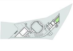 SESC Jundiaí,Mezzanine Floor Plan