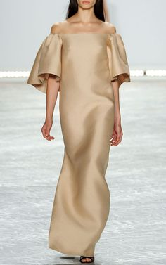 Monique Lhuillier Spring/Summer 2015 Trunkshow Look 28 on Moda Operandi