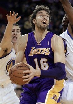 NBA: Lakers Win With Paul Gasol Triple Double  Lakers 99 Warriors 87 FINAL  Top Performer- Pau Gasol 22pts, 11reb, 11ast  keepinitrealsports.tumblr.com  keepinitrealsports.wordpress.com