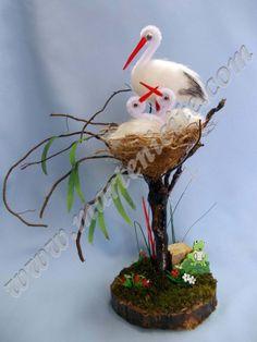 gólyák fészekben Baba Marta, Steampunk Cards, Alphabet Letters Design, Tissue Paper Flowers, Garden Terrarium, 3d Girl, Celebration Quotes, Small Furniture, Christmas Crafts For Kids