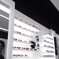 Eyewear Shop, Glasses Shop, Optical Shop, Sunglasses Store, Project Board, Store Design, Photo Wall, Display, Architecture