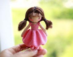 Crochet Butterfly Fairy Doll by FairyFinFin on Etsy