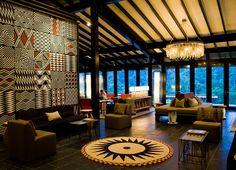 I suppose if I just had to go to Rwanda, I wouldn't mind staying here. -Nyungwe Forest Lodge, Rwanda