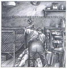 """""""Haarmann"""" von Peer Meter, die zweite: Dieses Mal von Isabel Kreitz gezeichnet. Nicht ganz so expressiv, aber auf über 160 Seiten endlich zu Ende erzählt."""