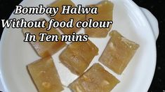 Bombay Halwa Recipe inTamil /Corn Flour Halwa /Without Food Colour /Vish... Cooking For Beginners, Food Coloring, Cheese, Colour, Recipes, Color, Food Recipes, Rezepte, Colors