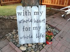 Happily Ever After Starts Now Wedding Sign Decoration by jkpegleg, $86.20