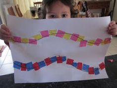 great small motor skills for those little fingers - good to teach following directions and would be good for a letter (T for train tracks?)