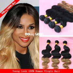 6A brazilian honey blonde virgin hair mixed 3 or 4 or 5pcs lot brazilian virgin hair weavesT6 cheapest brazilian human hair $134.70 - 243.00