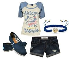 Mickey and Minnie Mouse summer outfit for MADI