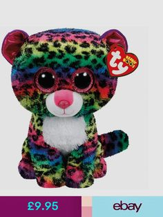 Ty Beanie Boo Plush - Dotty The Leopard 05aea969e434