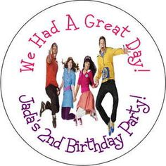12 New Fresh Beat Band Personalized Favor Stickers Personalized Birthday Party | eBay