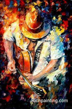 Resultado de imagen de oil paintings gutairs
