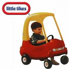 YES!!!! My little Tikes flinstone car :))) It's amazing that I still have my car it's lasted 3 generations. That just shows the difference between how they made toys then and how they make them now..