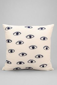 Magical Thinking Embroidered Eye Pillow - Urban Outfitters #UOonCampus #UOContest
