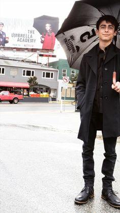 The Umbrella Academy: Aidan Gallagher Future Boyfriend, To My Future Husband, Film Anime, Nickelodeon, Under My Umbrella, Number 5, Cute Actors, Beautiful Boys, Cute Boys